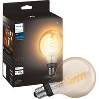 Philips Hue Filament Bluetooth LED Bulb - G93, E27, White