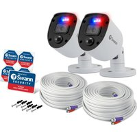 SWANN Enforcer SWPRO-1080SLPK2-EU Full HD Add-On Security Cameras - 2 Cameras at Currys Electrical Store