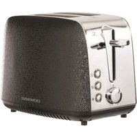 Click to view product details and reviews for Daewoo Glace Noir Sda2014 2 Slice Toaster Black Silver Black.