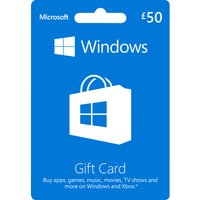 MICROSOFT Windows Gift Card - 50