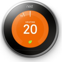 NEST Learning Thermostat   3rd Generation  Silver