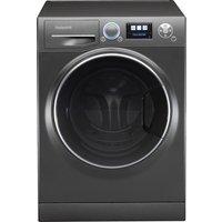 HOTPOINT Ultima S-Line RZ1066B Washing Machine - Black, Black