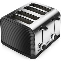 Buy TOWER T20008 Linear 4-Slice Toaster - Black, Black - Currys PC World