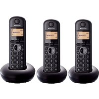 Click to view product details and reviews for Panasonic Kx Tgb213eb Cordless Phone Triple Handsets.