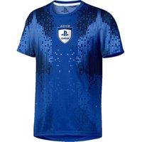 PLAYSTATION E-Sports 8-Bit T-Shirt - Small, Blue, Blue