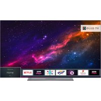 "65""  Toshiba 65X9863DB Smart 4K Ultra HD HDR OLED TV, Blue"
