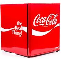 HUSKY Coca-Cola HUS-HU252 Mini Fridge - Red, Red