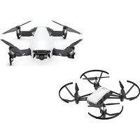 Dji Mavic Air Drone & Tello Drone With Accessory Pack Bundle - White, White
