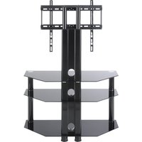 Ttap Classik Tvs1008 800 Mm Tv Stand With Bracket - Black, Black