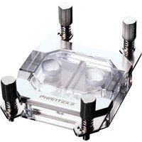 Glacier C350A CPU Water Block   Mirror Chrome