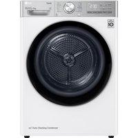 LG FDV1109W WiFi-enabled 9 kg Heat Pump Tumble Dryer - White, White
