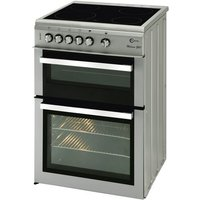 FLAVEL Milano ML61CDS Electric Ceramic Cooker - Silver & Chrome, Silver