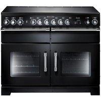 RANGEMASTER Excel 110 Electric Range Cooker - Black, Black