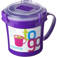 Sistema 656 Ml Soup To Go Mug, Pink at Currys Electrical Store