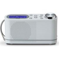 Roberts Play 10 Portable Dabﱓ Radio - White, White