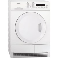 AEG  T75280AC Condenser Tumble Dryer - White, White