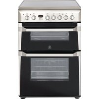 INDESIT ID60C2XS 60 cm Electric Ceramic Cooker - Stainless Steel, Stainless Steel