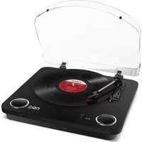 ION Max LP Turntable - Black, Black