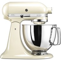 KITCHENAID 5KSM125BAC Artisan Tilt-Head Stand Mixer - Almond Cream, Cream