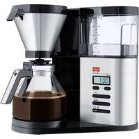 MELITTA AromaElegance Deluxe Filter Coffee Machine - Black & Stainless Steel, Stainless Steel