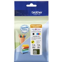 BROTHER LC3219XLDSVALRF Cyan, Magenta, Yellow & Black Ink Cartridges - Multipack, Cyan