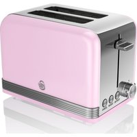 Buy SWAN ST19010PN 2-Slice Toaster - Pink, Pink - Currys