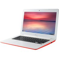 "ASUS C300 13.3"" Chromebook - Red, Red"