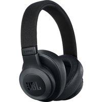 JBL E65BTNC Wireless Bluetooth Noise-Cancelling Headphones - Black, Black sale image