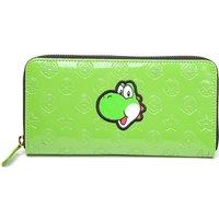 Nintendo Yoshi Allround Zipper Bifold Wallet - Green, Green