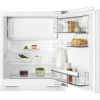 AEG SFB5821VAF Integrated Undercounter Fridge, Cream