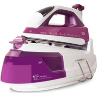 BEKO SteamXtra Smart Station SGA7126P Steam Generator Iron - Purple & White, Purple