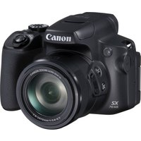 CANON PowerShot SX70 HS Bridge Camera - Black, Black