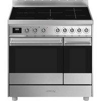 C92IPX9 90 cm Electric Induction Range Cooker - Stainless Steel, Stainless Steel