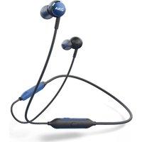 AKG Y100 Wireless Bluetooth Earphones - Blue, Blue