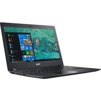 "Aspire 1 14"" Laptop - Intel Celeron, 64GB eMMC, Black,"