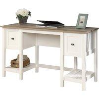 TEKNIK Shaker Style Desk - LIntel ®Oak, White.