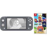 NINTENDO Switch Lite & Super Mario 3D All-Stars Bundle - Grey, Grey
