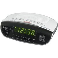 ROBERTS CR9971 Chronologic VI Analogue Clock Radio - Silver, Silver