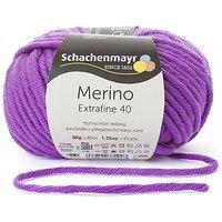 Schachenmayr Merino Extrafine 40 - Schurwollgarn, violett
