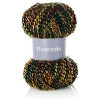 Four Season Riverside - Acrylgarn, grün-rot