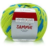 Schoeller + Stahl Sammie -  Modegarn, zitrus/türkis