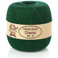 Woll Butt Diana, Stärke 5 - Baumwollgarn, grün