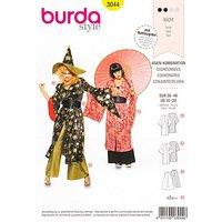 "burda Schnitt 3044 ""Kimono & Geisha"""