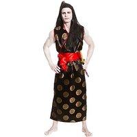 Kostüm Japan Mann, schwarz/rot