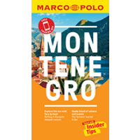 Montenegro Marco Polo Pocket Travel Guide - with pull out map - Free Touring App