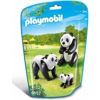 Playmobil Wildlife Panda Family 6652