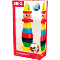 BRIO Infant & Toddler Stacking Clown - Toddler Gifts