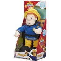Talking Fireman Sam 12-Inch Soft Toy - Fireman Sam Gifts