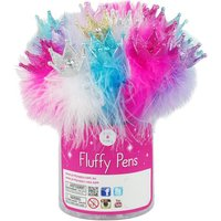 Luvley Sparkle Crown Fluffy Pen Assortment - Fluffy Gifts