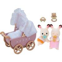 Sylvanian Families Baby Chocolate Rabbit Twins - Sylvanian Families Gifts